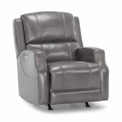 4711 Sterling Leather Recliner