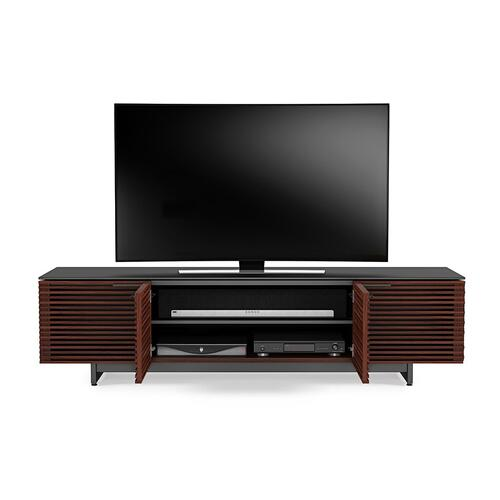 Low Media Cabinet 8173 in Chocolate Stained Walnut