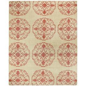 Vintage-Mandala Red - Rectangle - 8' x 10'