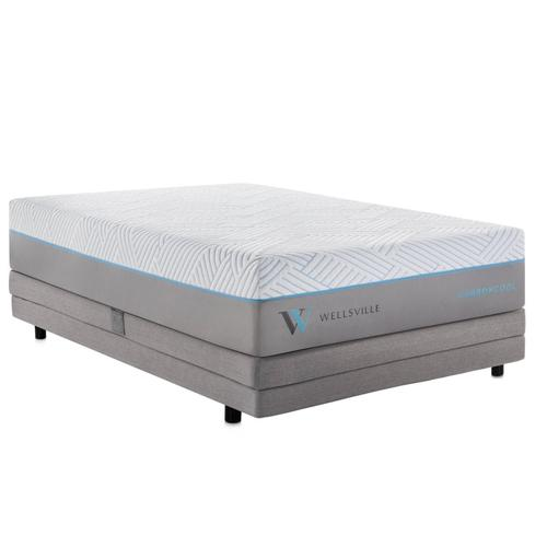 Wellsville 14 Inch CarbonCool Mattress Split Queen