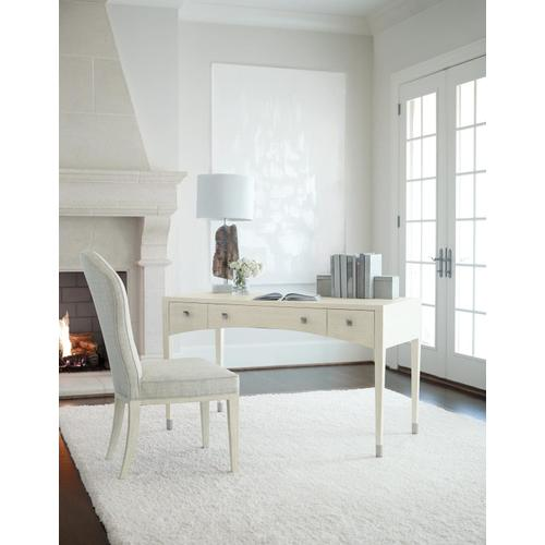 East Hampton Desk in Cerused Linen (395)