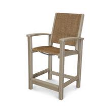 View Product - Coastal Counter Chair in Vintage Sahara / Chateau Sling