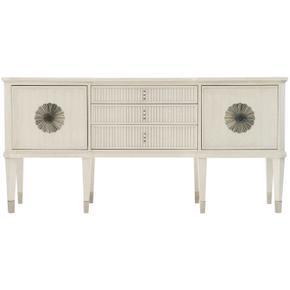Allure Sideboard in Manor White (399), Silver Mist (399)