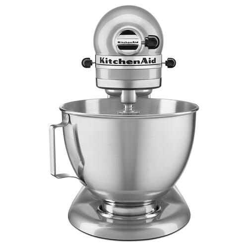 KitchenAid - Tilt-Head Stand Mixer Metallic Chrome