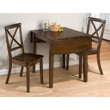 Richmond Cherry Drop Leaf Table W/(2) X Back Chairs