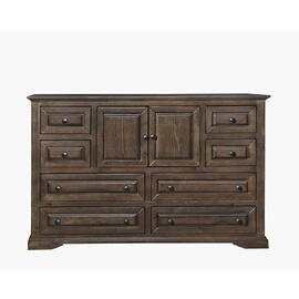 Drawer Dresser - Auburn Cherry Finish
