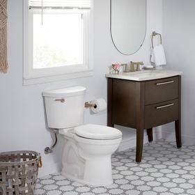 Champion PRO Right Height Elongated Toilet - 1.28 GPF - Linen