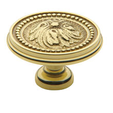 Polished Brass Ornamental Knob