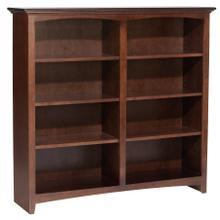 """CAF 48""""H x 48""""W McKenzie Alder Bookcase"""