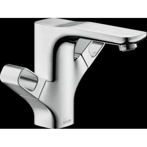 AXOR - Chrome 2-Handle Faucet 120 with Pop-Up Drain, 1.2 GPM