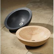 Polished Beveled Rim Sink Honed Basalt