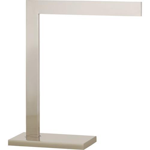 AERIN Lecce 17 inch 25 watt Polished Nickel Desk Lamp Portable Light