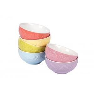 Bowls With Stand- Set of 6