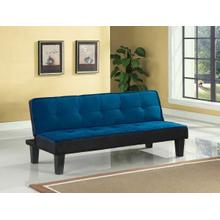 ACME Hamar Adjustable Sofa - 57031 - Blue Flannel Fabric