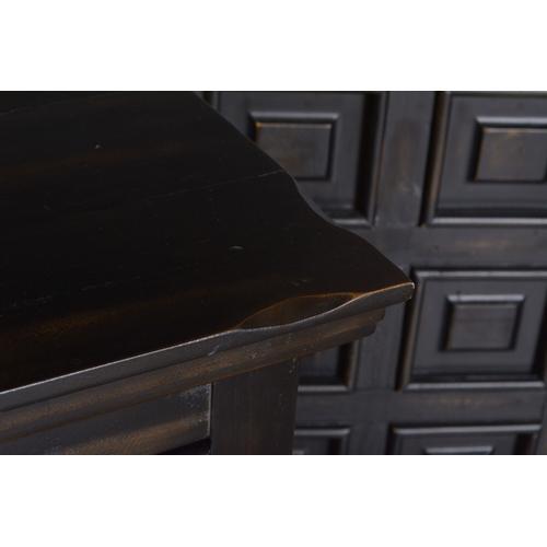 Horizon Home Furniture - Marquis Black Nightstand