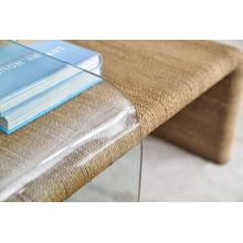 View Product - Amani Rope and Glass Cocktail Table