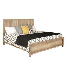 Barnwood Queen Panel Bed Headboard