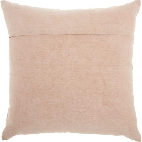 "Life Styles Cr670 Blush 18"" X 18"" Throw Pillow"
