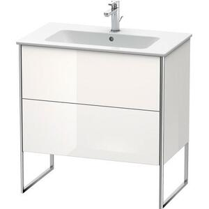 Vanity Unit Floorstanding, White High Gloss (lacquer)