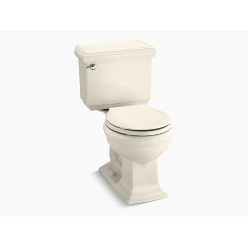 Almond Two-piece Round-front 1.28 Gpf Chair Height Toilet