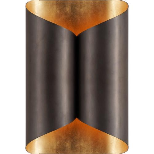 AERIN Selfoss 2 Light 7 inch Bronze Sconce Wall Light