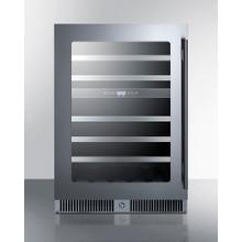 """See Details - 24"""" Wide Built-in Dual-zone Wine Cellar"""