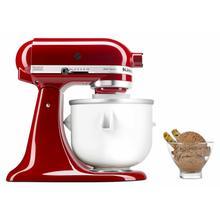 View Product - Ice Cream Maker Attachment - White