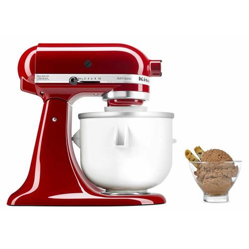 KitchenAid Canada - Ice Cream Maker Attachment - White