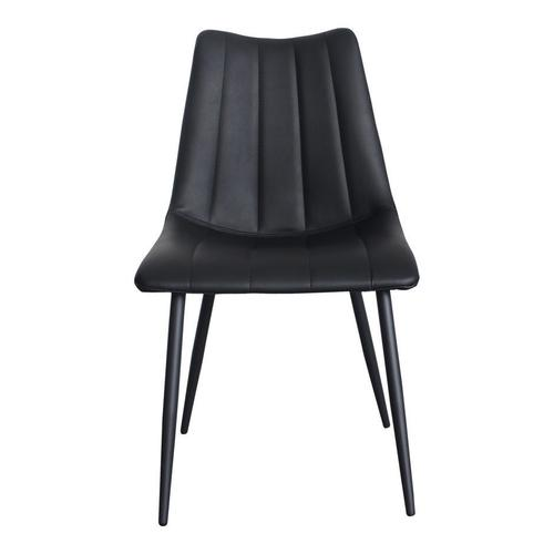 Moe's Home Collection - Alibi Dining Chair Matte Black-m2