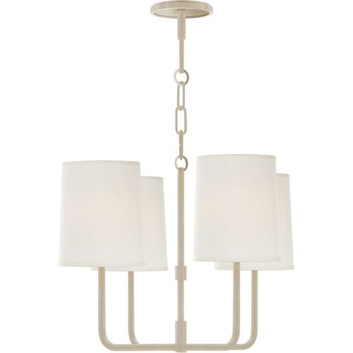 Visual Comfort - Barbara Barry Go Lightly 4 Light 20 inch China White Chandelier Ceiling Light