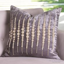 See Details - Strands of Pearls Pillow