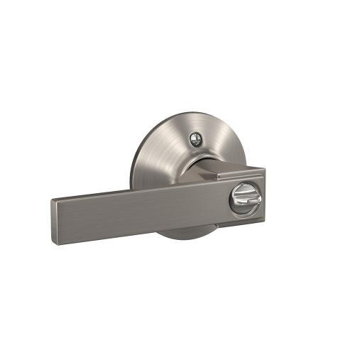 Northbrook Lever Keyed Entry Lock - Satin Nickel