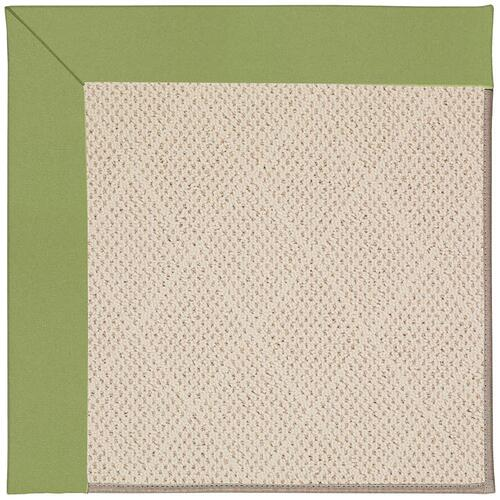 Creative Concepts-White Wicker Canvas Citron Machine Tufted Rugs