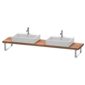 Console For Above-counter Basin And Vanity Basin Compact, Natural Walnut (decor)