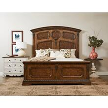Thoroughbred Chamber Panel Bed - Toast / King