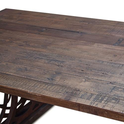 """Whitley 84"""" Reclaimed Wood Dining Table"""