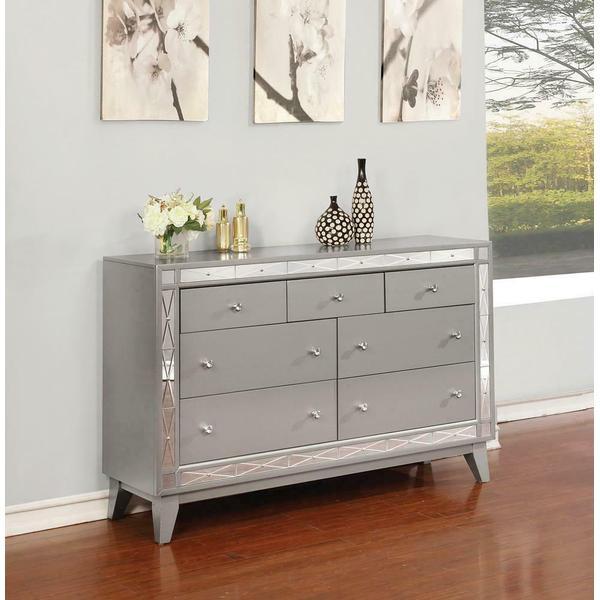 See Details - Leighton Contemporary Seven-drawer Dresser