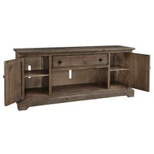 See Details - 74 Inch Console - Caramel Finish