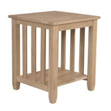 BJ6TE Mission End Table