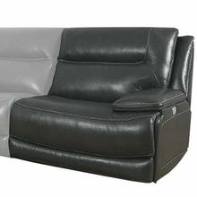 See Details - COLOSSUS - NAPOLI GREY Power Right Arm Facing Recliner