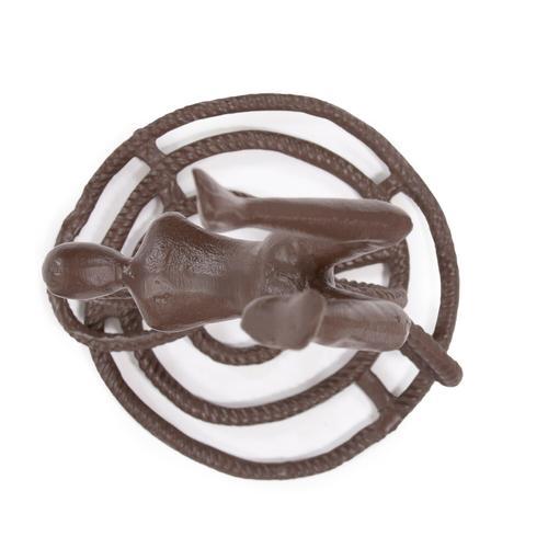 Howard Elliott - Rope Wrangler Aluminum Sculpture