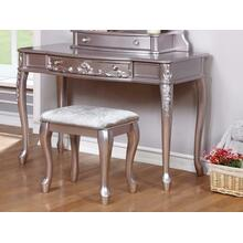 Caroline Metallic Lilac Vanity Desk