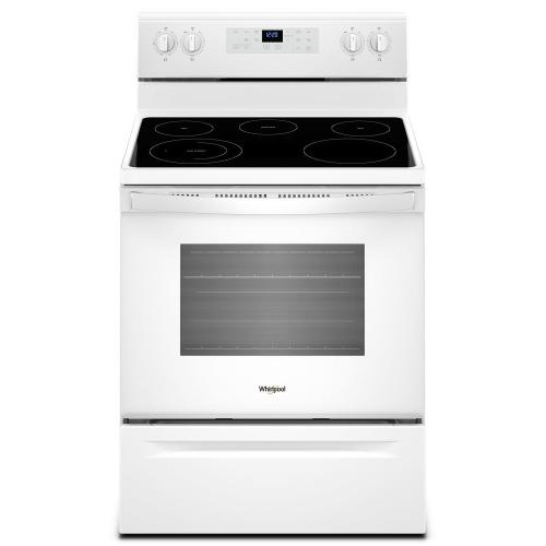 5.3 cu. ft. WhirlpoolA ® electric range with Frozen Bake technology