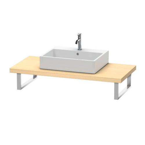 Product Image - Console For Above-counter Basin And Vanity Basin, Mediterranean Oak (real Wood Veneer)