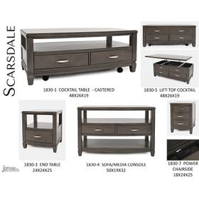 Scarsdale Sofa Table