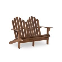 See Details - Adirondack Double Bench