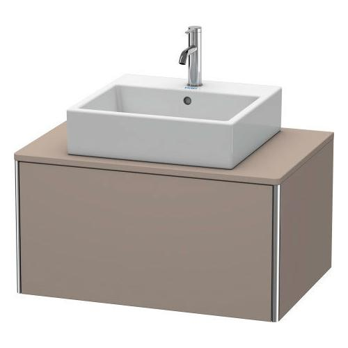 Duravit - Vanity Unit For Console Wall-mounted, Basalt Matte (decor)