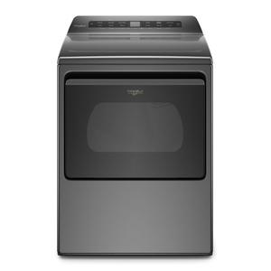 7.4 cu. ft. Top Load Electric Dryer with Intuitive Controls - CHROME SHADOW