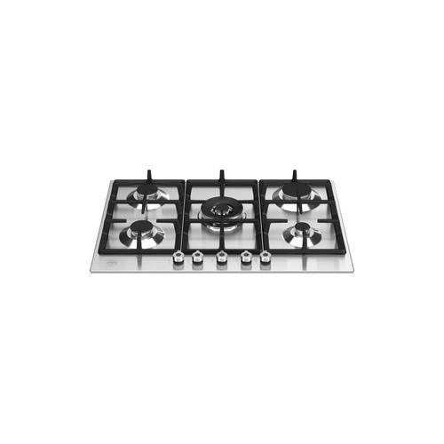 30 Front Control Gas Cooktop 5 burners Stainless Steel
