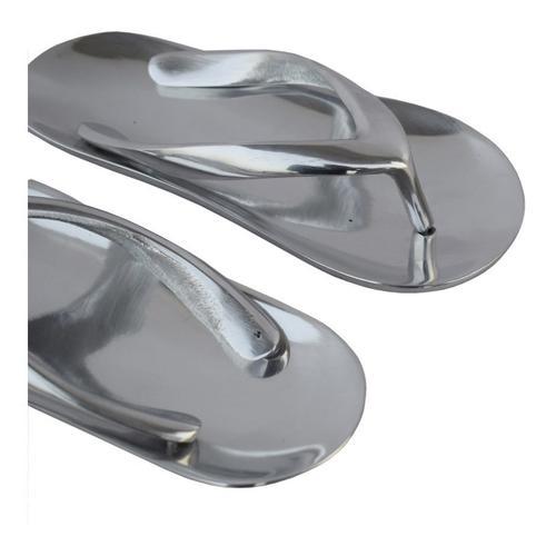 Metal Flip Flops